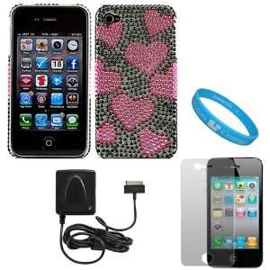 Two Piece Crystal Hard Case Cover for Verizon Wireless New iPhone