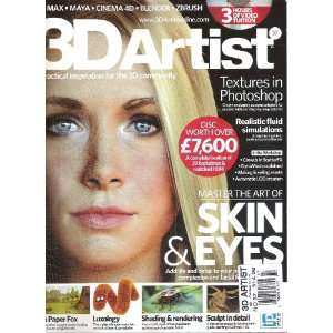 3D Artist Magazine (Master the Art of Skin & Eyes, Number