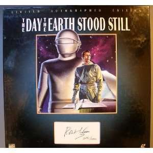 The Day the Earth Stood Still Limited Autographed Laserdisc Edition