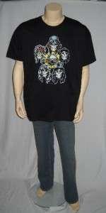 guns n roses band t shirt men s size xx large
