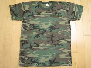 NEVER WORN 90s vtg BUSH band ARMY CAMOFLAGE T SHIRT camo GAVIN large