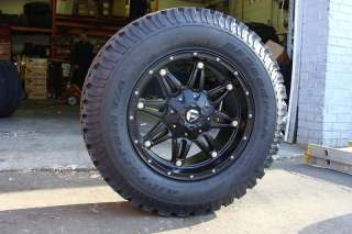 18 Fuel Off Road Hostage Black Wheels BFG 285/65 18