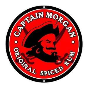 Licensed Captain Morgan Wine Beer Bar Metal Sign Decor