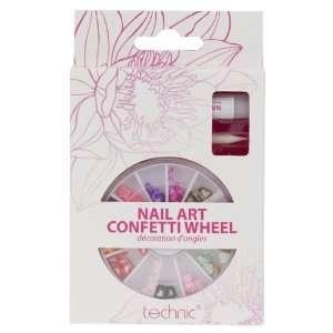 Technic Nail Art Confetti Wheel   Hearts/Stars/Bows