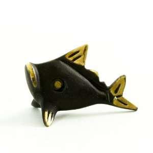 Walter Bosse Brass Fish Figurine