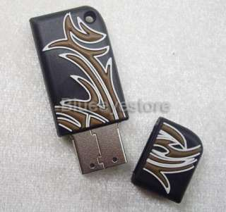 New black Tattoo USB Flash Memory Pen Drive stick 4GB