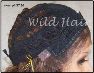 Brown Auburn Mix Lace Front Wig Heat ok Iron Safe Kanekalon Futura