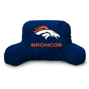 Denver Broncos NFL Team Bed Rest Pillow (20x12)