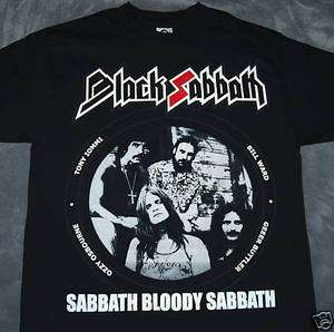 Black Sabbath   Bloody Sabbath   Metal Rock Brand New T SHIRT Sizes S