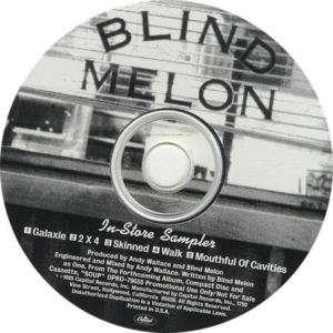 rare BLIND MELON 95 Soup/Galaxie 5tk PROMO samplr MINT