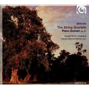 Brahms The String Quartets; Piano Quintet Op. 34 Johannes Brahms
