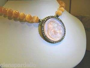 kirks folly Magic tango pink Necklace dream angel