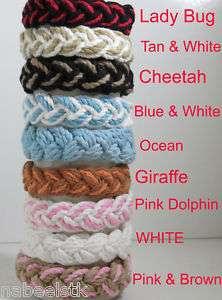 Sailor Knot Friendship/Surfer/Rope Bracelet (9 Colors)