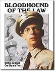 Vintage Style Barney Fife Andy Griffith TV Show Bloodhound Tin Sign