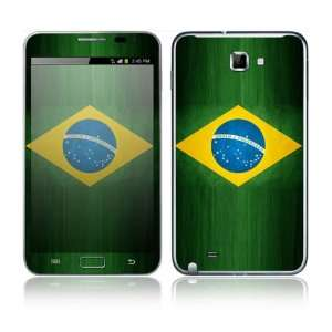 Flag of Brazil Decorative Skin Cover Decal Sticker for Samsung Galaxy