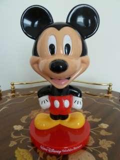 Disneyworld Mickey Mouse Bobble Head DisneyWorld Resort