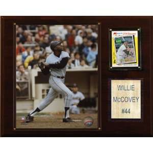MLB Willie McCovey San Francisco Giants Player Plaque