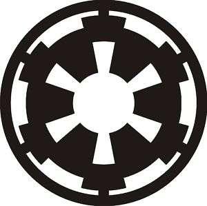 Starwars Imperial Symbol Vinyl Decal,Sticker,CarGraphic