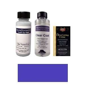 2 Oz. Medium Melina Blue Metallic Paint Bottle Kit for