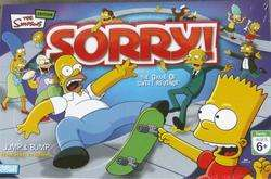 The Simpsons Sorry Game Homer & Bart Simpson