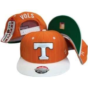 Tennessee Volunteers Pinstripe Orange/White Tone Snapback