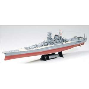 Tamiya 1/350 Japanese Battleship Musashi Kit: Toys & Games