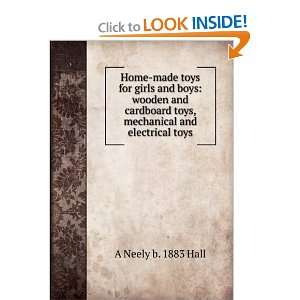 toys, mechanical and electrical toys A Neely b. 1883 Hall Books