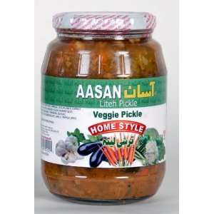 AASAN Veggie Pickle (Torshi Liteh) 32 oz:  Grocery