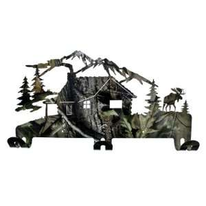 Mountains Metal Coat Rack Realtree APG Camo Finish: Sports & Outdoors