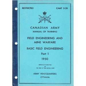 Download Canadian army field manual