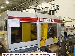 Vandorn 170 Ton Plastic Injection Molding Machine