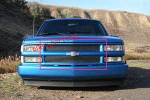 94 98 Chevy C/K 99 Tahoe Suburban Blazer Billet Grille