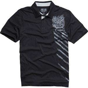 Fox Racing Ride or Die Polo Shirt   Small/Black