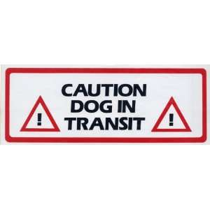 Transit ~ Self Adhesive Vinyl Sticker / Decal (RV, Truck or Car) Pet