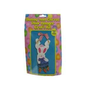 Bunny And Carrot Door Hanger Craft Kit