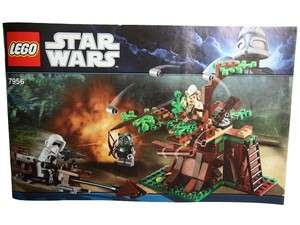 LEGO Instructions   Star Wars   Ewok Attack   7956   No Bricks   Class