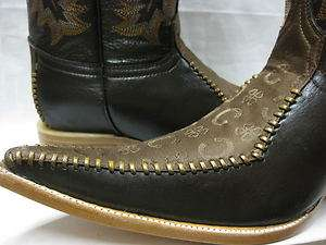 STAR DANCE EXOTIC COWBOY BOOTS WESTERN SHOES BIKER HARLEY MOTORCYCLE