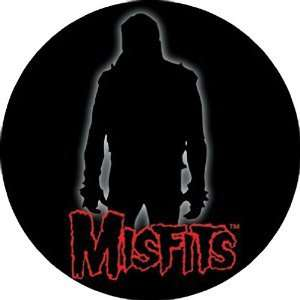 THE MISFITS SILHOUETTE LOGO BUTTON: Home & Kitchen