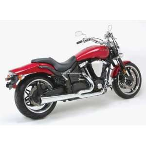 PRO PIPE HS EXHAUST SYSTEM 02 08 YAMAHA XV1700A ROAD STAR Automotive