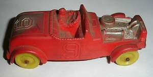 Hot Rat Rod Race Car #9 Auto Racing c1940s 1950s Childrens Toy