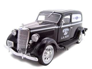 24 scale diecast model of 1935 ford sedan delivery parts die cast car