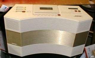 RARE BOSE ACOUSTIC WAVE AM/FM/ CASSETTE W / AUX INPUT for CD PLayer or