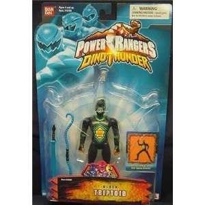 Power Rangers Dino Thunder Black Triptoid Toys & Games