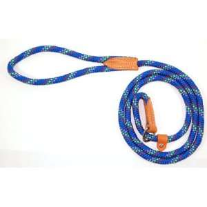 Lead and Choke Collar for Dogs, Blue Confetti Weave: Pet Supplies