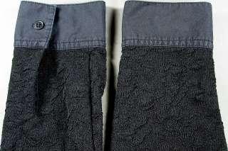 ITEM  Womens Josephine Chaus Petite Black Long Sleeve Shirt