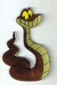 Kaa python molurus snake in Jungle Book Iron On Patch