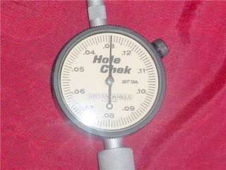 HOLE CHECK GAUGE BY STEVEN DANIELS MODEL 130