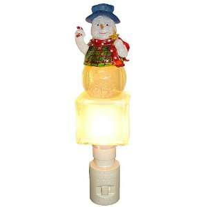 Snowman Snow Globe Christmas Night Light #742400L