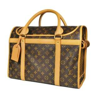LOUIS VUITTON MONOGRAM SAC CHIEN 40 DOG CAT PET CARRIER BAG