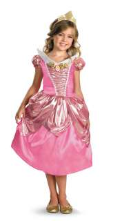 AURORA SLEEPING BEAUTY PRINCESS LAME DELUXE CHILD COSTUME Disney Girl